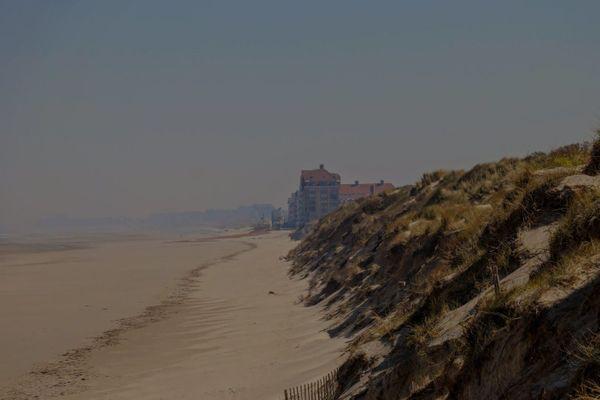 La plage, près de Bray-Dunes, de nos jours.