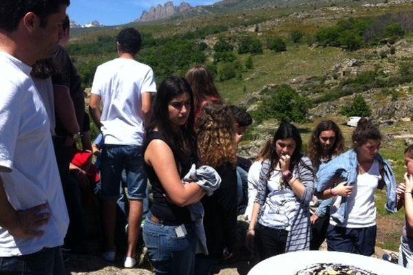 """120 élèves étaient invités à cette 2de édition du Festival de poésie """"Pampasgiolu"""""""