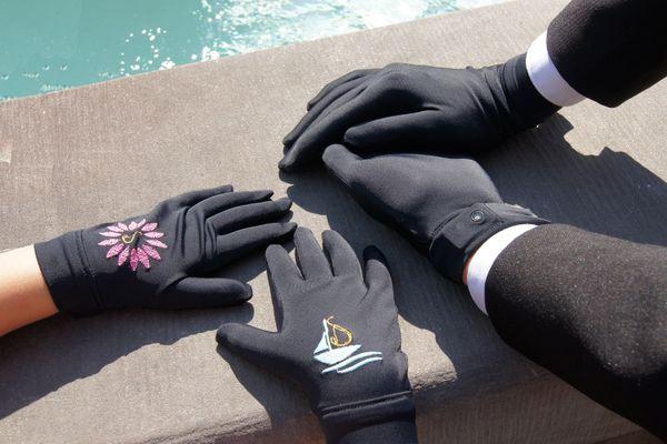 Les gants connectés conçus par l'entreprise mulhousienne Spinali Design sont composés d'un tissu traité au dioxyde de titane permettant de détruire le coronavirus.