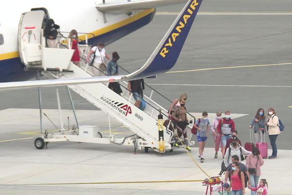 Les compagnies low cost accélèrent le mouvement  l'aéroport de Bordeaux-Mérignac (29/07/21)