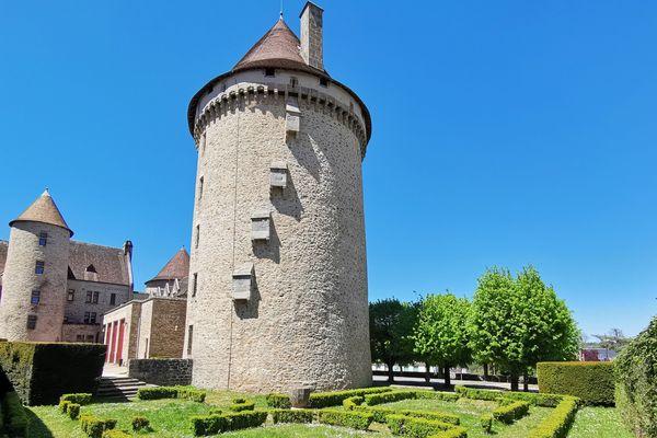 La tour Zizim, à Bourganeuf (Creuse)