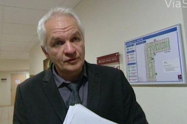 Jean-Jacques Coiplet, Directeur de l'Agence Régionale de Santé, à Ajaccio, le 26 novembre 2013