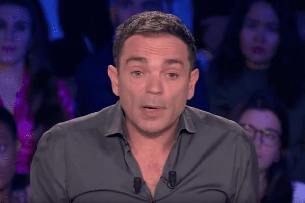 Yann Moix sur le plateau d'On n'est pas couché, diffusée le 6 janvier.