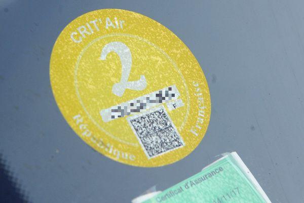 Les vignettes Crit'Air deviennent obligatoire pour circuler en cas de mise en place de la circulation alternée.