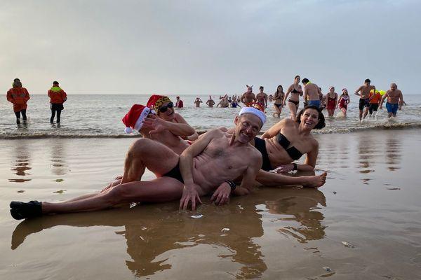 Ce dimanche, les bonnets de Noël étaient de sortie