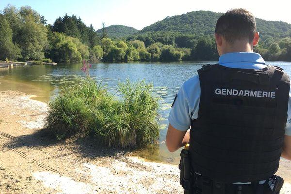 Haute-Garonne - C'est au lac de Barbazan, lac interdit à la baignade par arrêté préfectoral, que la noyade a eu lieu jeudi 19 août 2021.