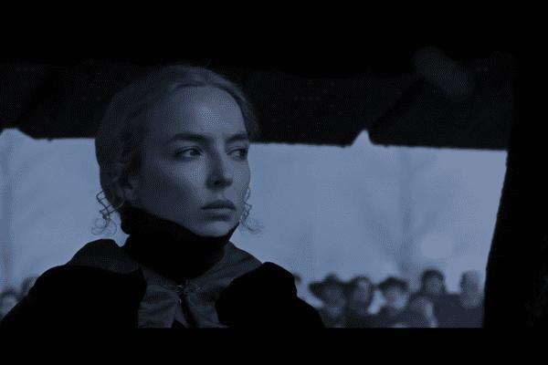 Marguerite de Carrouges, interprétée par l'excellente Jodie Cromer, est au cœur du scénario du Dernier Duel.