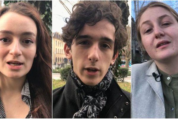 """Claire, Félix et Claire-Anne se sont prêtés au jeu de """"si j'étais maire..."""""""