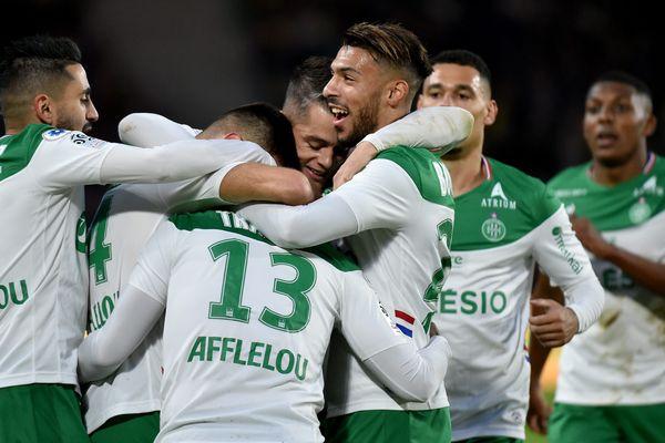 ASSE : Les Verts s'imposent à Nantes et montent à la 4e place
