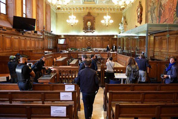 La salle d'audience du premier procès Merah