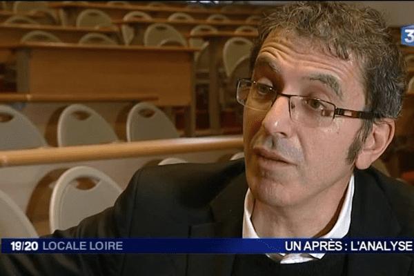 Ahmed Boubeker - Directeur du département de Sociologie de l'Université Jean Monnet - 7/1/16