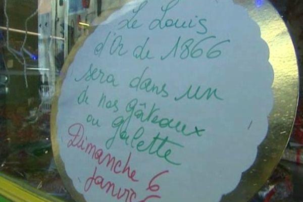 Un Louis d'or dans une galette à Auriol