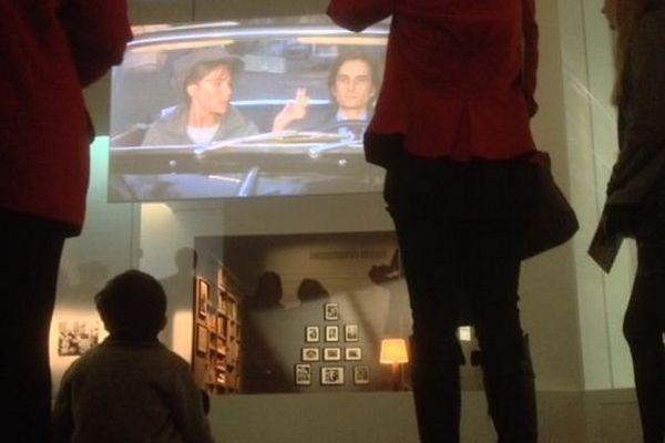 François Truffaut, l'exposition se déroule du 8 octobre 2014 au 25 janvier 2015 à la Cinémathèque dans le 12e arrondissement