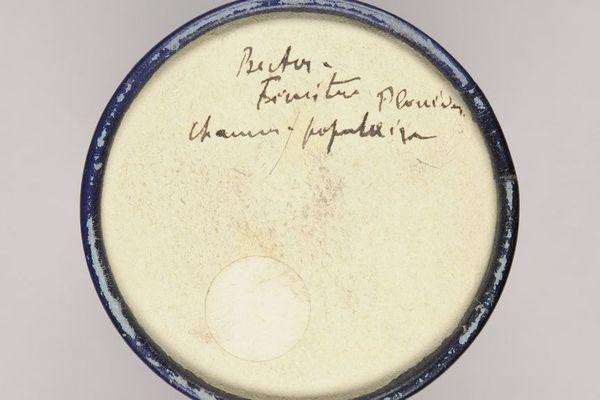 Cylindre de cire destinés à l'enregistrement au début du siècle