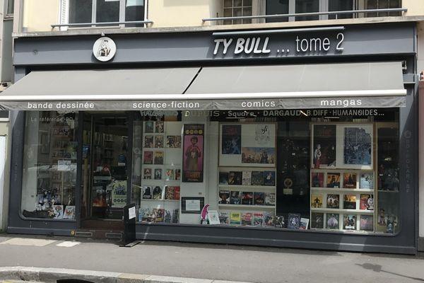 La librairie Ty Bull Tome 2, rue Saint-Hélier à Rennes