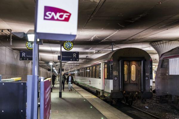 La CGT-Cheminots a appelé à une grève au sein de la SNCF ce 1er juillet. Photo d'illustration