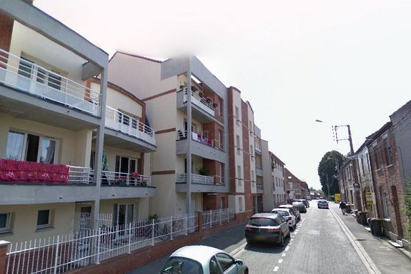 Rue Jean-Jacques Rousseau à Méricourt