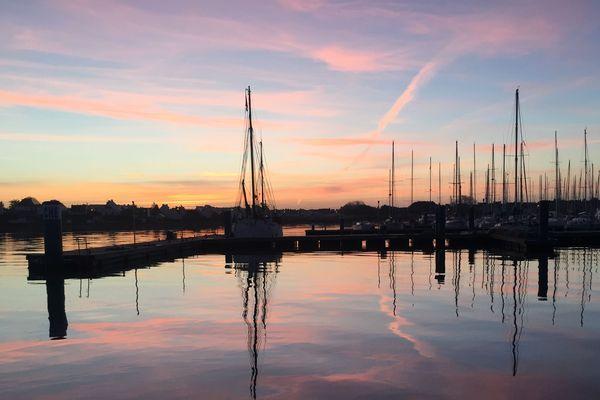 La rade de Lorient du côté de Port Louis