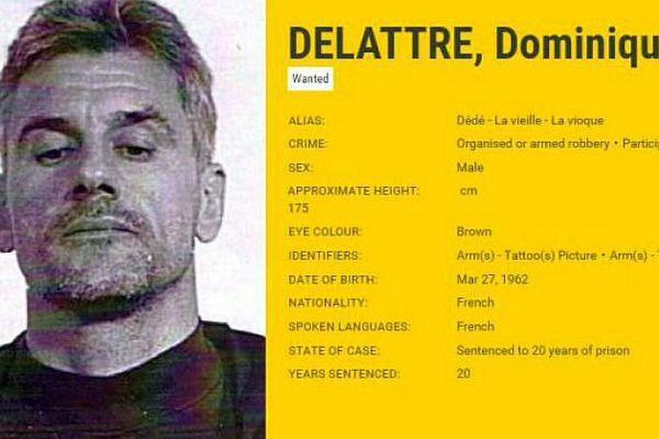 Le Nîmois Dominique Delattre est l'une des 45 personnes les plus recherchées d'Europe par Europol
