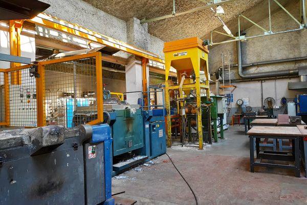 L'atelier fonderie du lycée Guimard