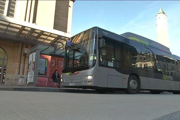 Les bus Optymo dans le Territoire-de-Belfort