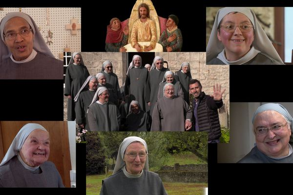 Des moniales bénédictines de l'Abbaye de Valognes