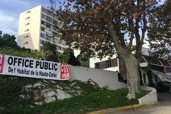 Poursuite du conflit à l'Office Public de l'Habitat de Bastia