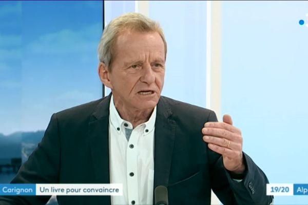 Alain Carignon, candidat à la mairie de Grenoble en 2020, était l'invité du 19/20 de France3 Alpes ce lundi.