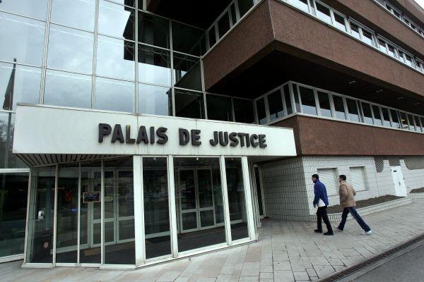 Le Palais de Justice d'Albertville, en Savoie.