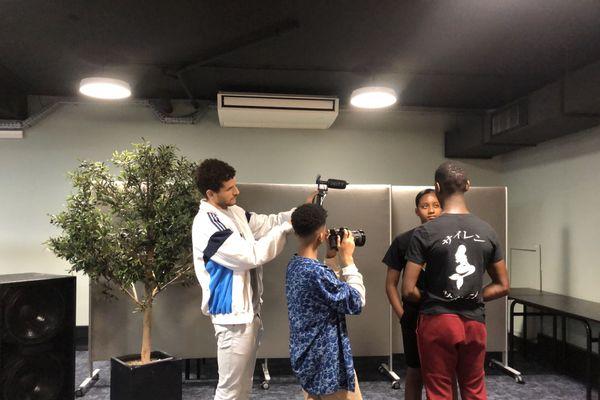 Une petite vingtaine de jeunes nantais a été sélectionnée pour réaliser un court-métrage en deux jours.