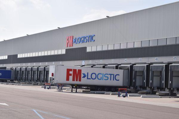 Le site de FM Logistic à Savigny-sur-Clairis (Yonne)