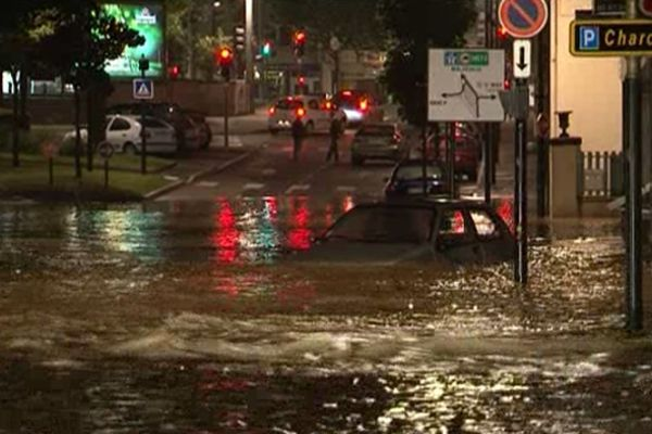 Les inondations dans le Grand Nancy le 21 mai 2012