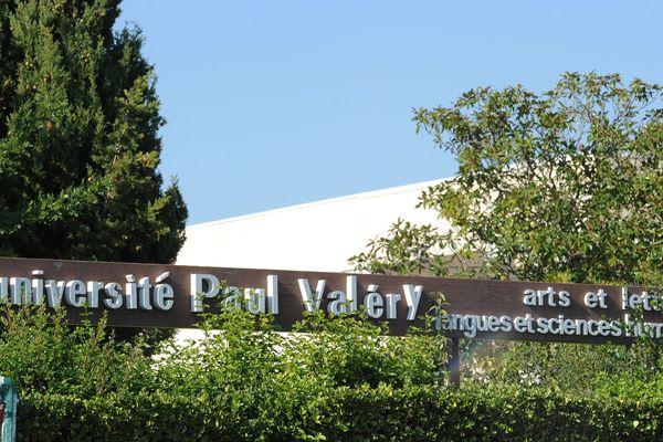 L'université Paul Valéry, l'une des facultés de Montpellier