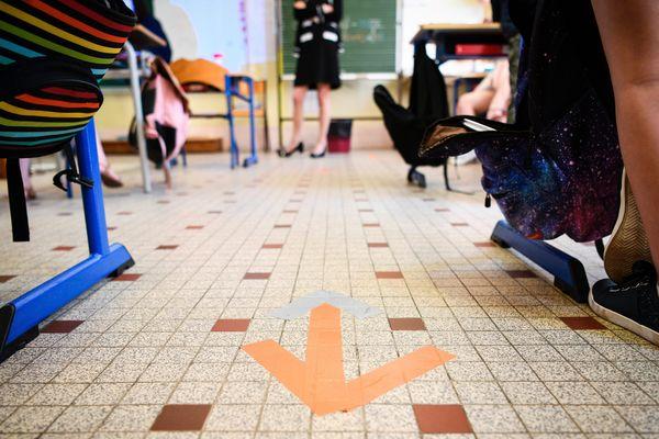 A Sancerre, une école est fermée depuis jeudi pour suspicion de Covid-19.