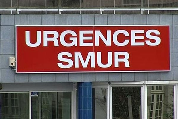 Les urgences du Centre hospitalier de Vire (Calvados)