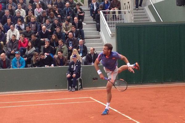 Paul-Henri Mathieu à Roland Garros, mardi