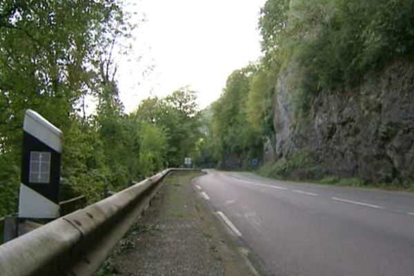 La côte de Morre mène vers Besançon quand on arrive de Pontarlier.