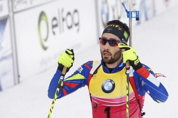 Martin Fourcade remporte l'argent en mass start à dimanche à Oslo mais le catalan reste l'homme de ces Mondiaux après ses sacres en sprint, poursuite, Individuel 20 km ainsi que sur le relais mixte.