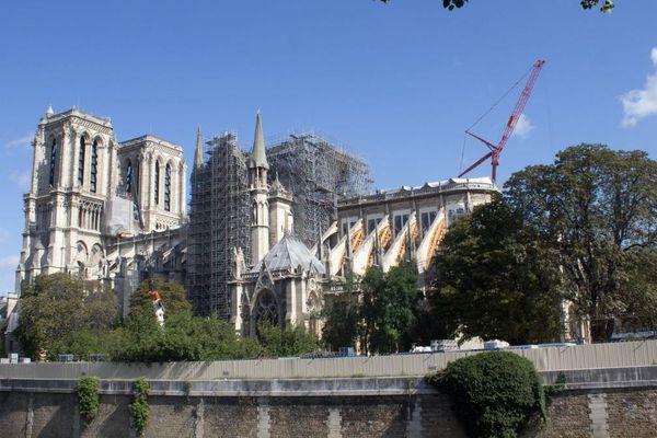 Plusieurs années de chantier seront nécessaires pour restaurer Notre-Dame-de-Paris - Août 2019
