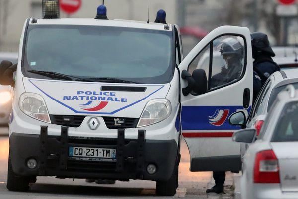 Intervention de la police, dans le quartier de la Meinau à Strasbourg le 13 décembre 2018 (photo d'illustration).