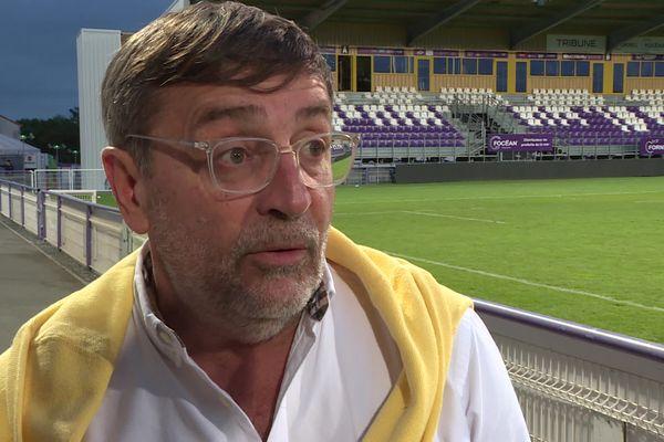 Didier PItcho, le président du SA XV, se dit inquiet pour l'avenir du club.