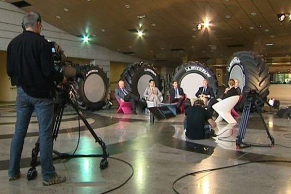 Le nouveau pneu de Michelin est destiné à des exploitations agricoles de plus de 10 000 hectares.