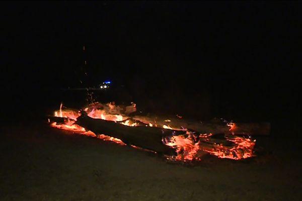 Près de 800 hectares ont été détruits par le feu dans les communes de Chalais et Lignac, dans l'Indre, le 18 septembre.