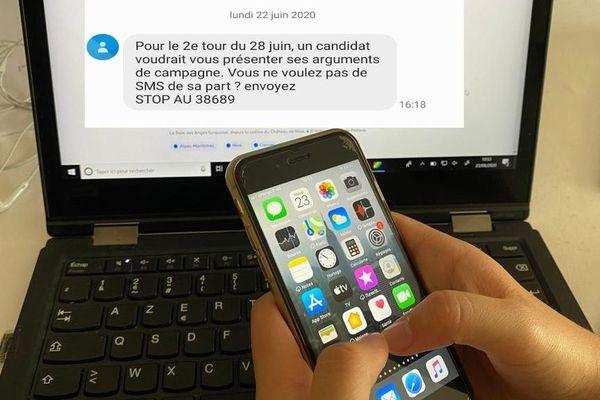 D'où vient ce mystérieux SMS annonçant aux électeurs niçois qu'ils recevront bientôt des messages de la part d'un candidat