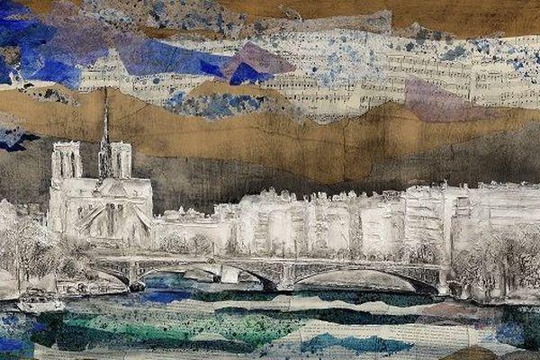 Paris - Peinture de Bernard Mérigault