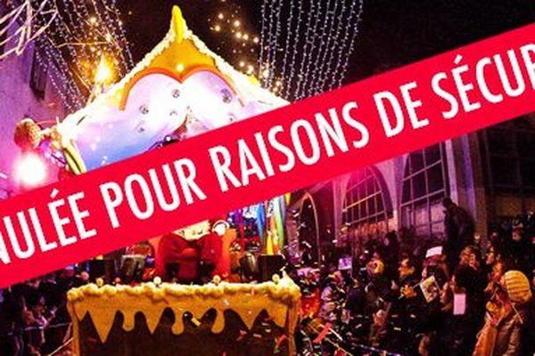 """La ville des Herbiers invoque sur son site des """"raisons de sécurité"""" pour annuler la parade de Noël."""