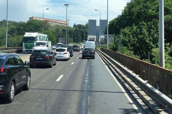 BlaBlaBus estime l'heure d'arrivée en prenant en compte les bouchons à l'entrée de Lyon.