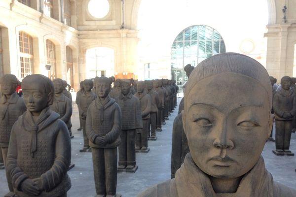 Terracotta Daughters au Centquatre à Paris
