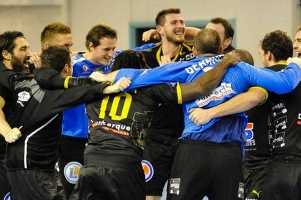 Les Dunkerquois sont en route vers un premier titre de champions de France de handball