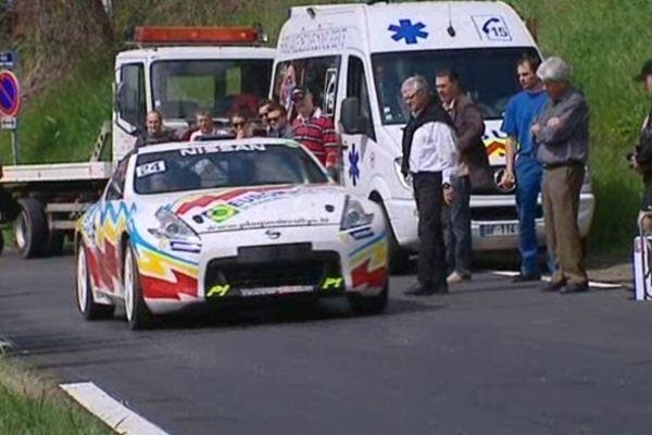 Les préparatifs du rallye de Charbonnières 2013, à la veille du départ...